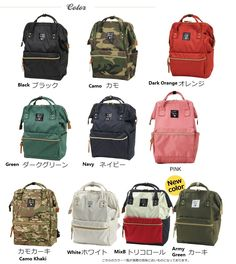 03a8b2ed23 Japan Anello LARGE Rucksack Polyester Canvas Waterproof Travel Backpack  (PREORDER)