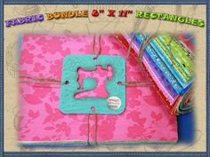 Fabric bundles. Find more at www.smartneedle.com