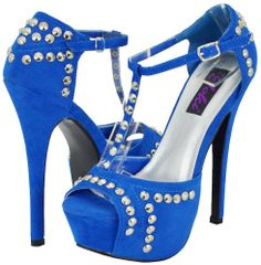 Cool Yoki Keep-09 Royal Blue Women Platform Sandals