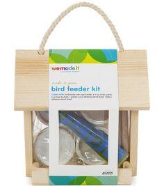 Summer Craft Ideas for Kids // We Made It by Jennifer Garner Bird Feeder Kit Craft Projects For Kids, Diy For Kids, Activities For Kids, Kid Crafts, Online Craft Store, Craft Stores, Flower Press Kit, Adhesive Stencils, Diy Bird Feeder