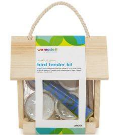 Summer Craft Ideas for Kids // We Made It by Jennifer Garner Bird Feeder Kit