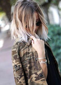 Lunettes aviateurs + veste camouflage = le bon mix (photo Noholita)