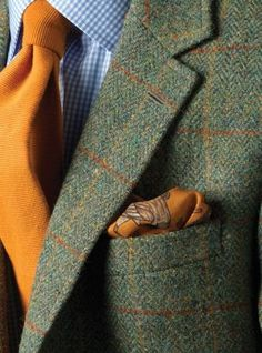 """Tweedland"" The Gentlemen's club: TWEED ... MORE ... TWEED ..."