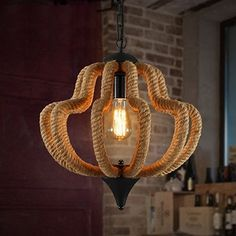 189.99$  Watch here - http://alidme.worldwells.pw/go.php?t=32510620029 - Edison Loft Style Hemp Rope Vintage Pendant Light Fixtures Industrial Indoor Lighting For Dining Room Hanging Lamp Lampara