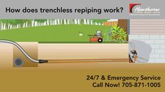 Digging a trench across your lawn can be time consuming, messy and cause  future lawn problems. Fortunately, trenchless pipe repair is a viable  option for many situations where pipe repair is required.  Call Hawthorne Plumbing, Heating & Cooling today to find out more about  qualifications and quotes for trenchless pipe repair.