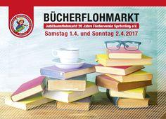 Wir laden euch ganz herzlich ein zum Bücherflohmarkt in Nöttingen (Remchingen) am 1. und 2. April!😇 Wir werden dort vertreten sein und unsere Hocker verkaufen. Wir freuen uns sehr über euer Kommen!