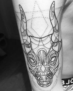 Taurus tattoo! Le Nou Tattoo