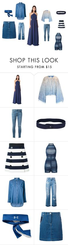 """""""untitled"""" by emmamegan-5678 ❤ liked on Polyvore featuring Joanna August, Marco de Vincenzo, rag & bone/JEAN, Nina Ricci, Dolce&Gabbana, Balmain, Guild Prime, Valentino, Under Armour and Kenzo"""