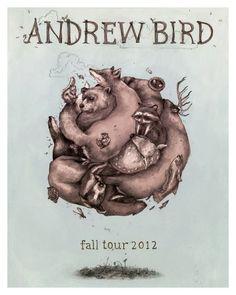 Andrew Bird on Behance