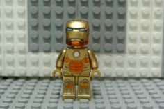 LEGO Marvel Avengers Super Heroes Iron Man Mark XXI Minifigure- Custom