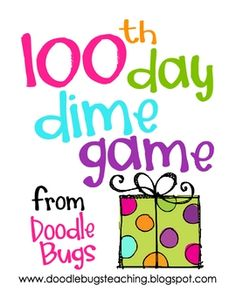 This is a fun little game that my first graders had a blast playing on our 100th day!I made it for this special day.. but we will be playing it...