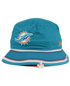 New Era Miami Dolphins Team Stripe Bucket Hat Men - Sports Fan Shop By Lids  - Macy s 2f51c06a0