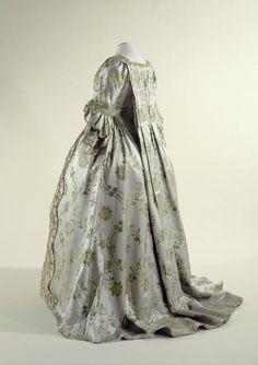 Jupe de robe à la françaiseAnonyme  entre 1750 et 1760