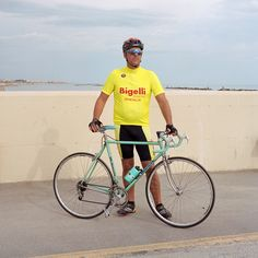 portrait part of project @le cycliste