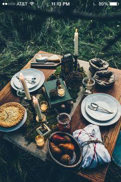 Future boyfriend please take me to these kinds of romantic picnics ;)