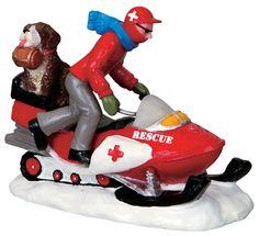 Lemax >> Vail Village >> Ski Patrol Rescue