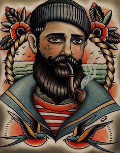 Smoke that pipe Sailor