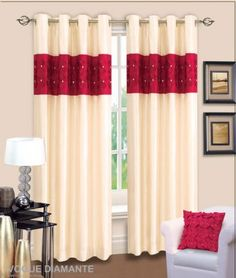 silk curtains for bedroom 3d diamante ringtop eyelet lined curtains
