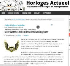 prima PR Holland, Watches, The Nederlands, Wristwatches, The Netherlands, Clocks, Netherlands