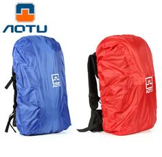 AOTU Waterproof 40-90L Rain Cover Travel Camping Hiking Outdoor Cycling School Backpack Luggage Bag Dust Rain Cover