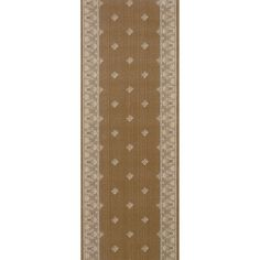 "Meridian Rugmakers Soyagaon Brown Area Rug Rug Size: Runner 2'2"" x 10'"