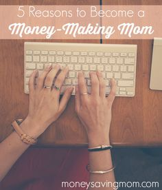 Being a money-making mom has changed my life and the life of my family. In three years time, I went from being a stay-at-home mom who could barely afford it, to achieving seemingly impossible goals through my at-home business. If you're on the fence about whether or not to start a business of your own, you might want to consider these 5 reasons to become a money-making mom.