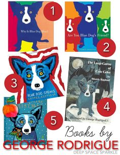 Happy Birthday, George Rodrigue! A collection of art lessons and picture books about American artist, George Rodrigue.
