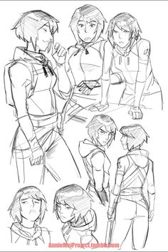 Annie Mei Project — Another batch of Annie related drawings Female Character Design, Character Design References, Character Design Inspiration, Character Art, Art Poses, Drawing Poses, Drawing Sketches, Drawings, Figure Drawing Reference