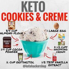 Ketogenic Diet, Paleo Diet, Comida Keto, Keto Ice Cream, Keto For Beginners, Keto Cookies, Chip Cookies, Almond Cookies, Pumpkin Cookies