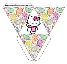 08833d017 Cajitas imprimibles de Hello Kitty 2. | Ideas y material gratis para  fiestas y celebraciones Oh My Fiesta!