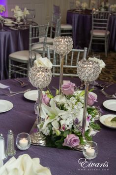 Crystal Centerpiece Ideas Decorating Interior Of Your House