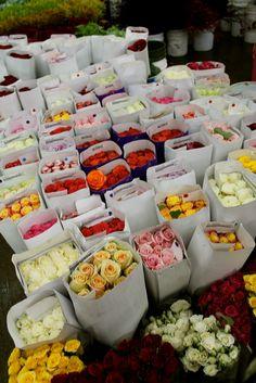 See Shop Eat Do: Los Angeles blog visits the Flower Mart in the LA Flower District.