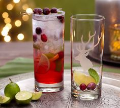 Holiday Mojito Cocktail Recipes via Cost Plus World Market >> #WorldMarket Holiday Entertaining
