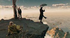 The Imaginarium of Doctor Parnassus (2009)  #movies #moviestowatch #netflix #art #photography #cinema #films #cinematography