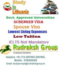 Study Visa in Lithuania