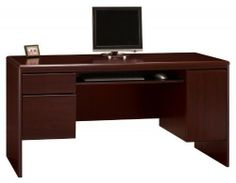 NORTHFIELD HARVEST CHERRY CREDENZA BY BUSH by Bush Office Solutions. $467.63. Lifetime Warranty. Spice up your office with this handy Credenza from Bush furniture. It will expand your work surface and bring additional storage and a handy keyboard shelf to your office setting. It is part of the Northfield Collection. Dimensions: 31 In. H x 62 In. W x 23 In. D