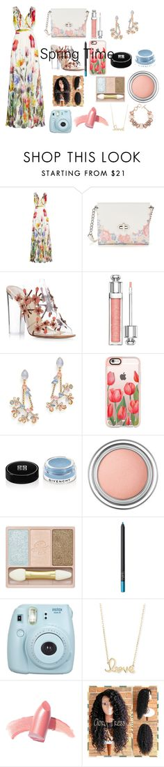 """""""Spring Time"""" by s-takyiyeboah on Polyvore featuring beauty, Joelle, Candie's, Paul Andrew, Christian Dior, Erickson Beamon, Casetify, Givenchy, Paul & Joe Beaute and NARS Cosmetics"""
