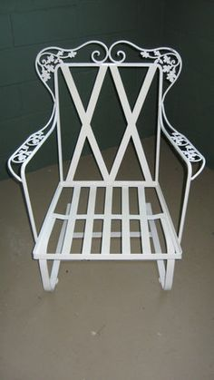 Woodard Orleans. Vintage Patio FurnitureIron ...