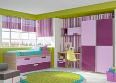 Dormitorio juvenil (168 – J5) - Muebles CASANOVA