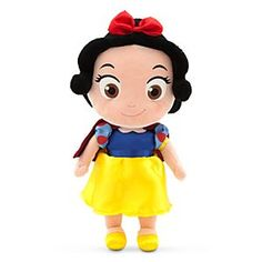 Disney Toddler Snow White Plush Doll | Soft and oh-so-huggable, Toddler Snow White is always ready to play and brighten your day!