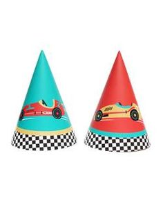 Race Car Party Hats (Set of 12) – Momo Party Race Car Birthday, Race Car Party, Birthday Fun, Race Cars, Daddy Birthday, Half Birthday, Birthday Ideas, Car Themed Parties, Cars Birthday Parties