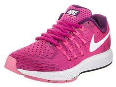 bee6807ac1937 Nike Womens Air Zoom Vomero 11 Fire PinkWhiteBright Grape Running Shoe 65  Women US  gt