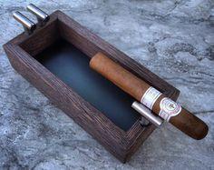 Zigarren Ascher von MyWoodAshtray auf Etsy