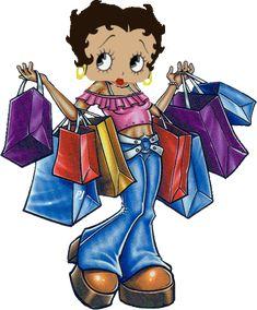 Shopaholic Betty...