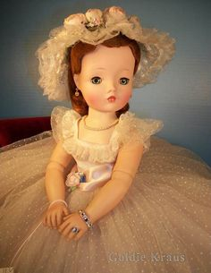 Cissy Doll in Original Outfit: 1957 Cissy Bridesmaid (bought in 2008)