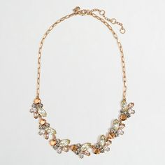 J.Crew Factory - Factory flying jewel necklace