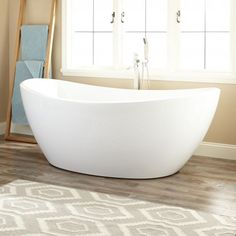 Freestanding Tub With Air Jets. 75  Nordman Acrylic Freestanding Tub with air jets Treece Bath Favorites Pinterest
