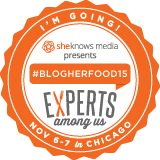 I'm Going to #BlogHerFoood15 in Chicago!