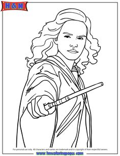 harry potter deathly hallows coloring page | kid crafts ... - Harry Potter Coloring Pages Ginny