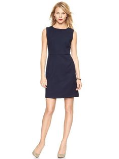 Navy Sheath Dress | GAP